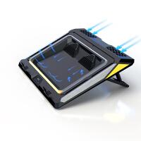IETS游戏本笔记本散热器暗影精灵外星人17寸15.6戴尔G7游匣G3拯救者y7000p压风式散热器电脑底座托架支架