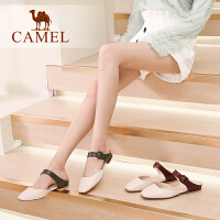 Camel/骆驼2019夏季新款 风雅于型 塑出精彩 凉拖女