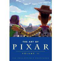 [现货]英文原版Art of Pixar Volume II皮克斯经典明信片第二辑