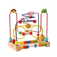 儿童串绕大号1-2周岁宝宝玩具 1-3岁 6-12个月