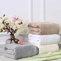 酒店会所样板房浴室摆件大毛巾浴巾卫生间装饰方巾摆设