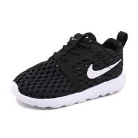 耐克(Nike)新款儿童鞋轻便舒适运动鞋镂空透气休闲鞋819691-008 黑色