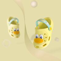 1-3岁宝宝拖鞋婴儿男沙滩鞋婴幼儿小童洞洞鞋夏季凉拖软底鞋