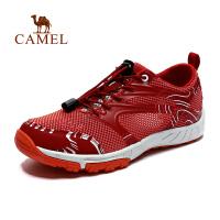 camel骆驼户外徒步鞋 春夏新款女士 透气防滑耐磨日常运动徒步鞋