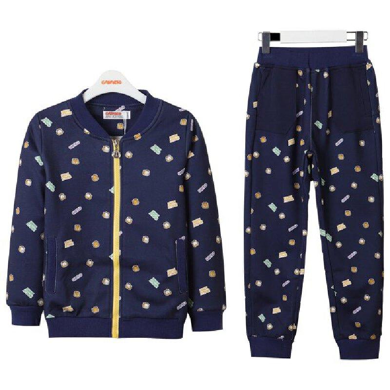 【到手价:79.75元】加菲猫女童春装套装 印花卫衣两件套 GDW17570