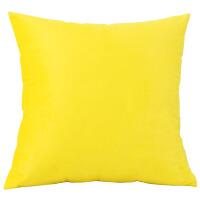 设计师搭配 几何简约组合黄抱枕沙发靠垫家居软装样板房靠枕