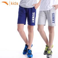 【限时秒杀!】安踏童装男童五分裤2020夏新款夏装针织运动短裤中大童6-12岁短裤