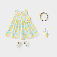 女宝背心裙婴儿裙子洋气儿童公主裙宝宝夏女童夏装连衣裙