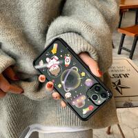 iPhone11手�C�ぬO果11Promax玻璃透明11Pro潮超薄全包maxPro可�劭ㄍ�ipone宇宙星球�赢���性��意