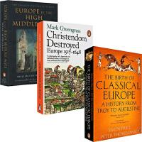 企鹅欧洲史英版 英文原版 Penguin European history 7册 罗马帝国 追逐荣耀 竞逐权利 地狱之