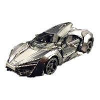 3D金属拼图 跑车 急速跑车 手工拼装模型玩具