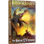 英雄与王冠英文原版小说 The Hero and the Crown 纽伯瑞银奖小说 中小学暑假英文阅读