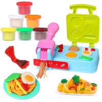橡皮泥无毒彩泥儿童模具工具套装手工女冰淇淋面条机超轻粘土玩具