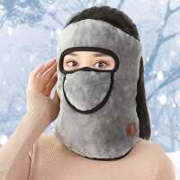 冬季保暖口耳罩男二合一耳套冬天防风防寒护耳女骑车面罩全脸脖套