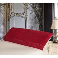 棉枕巾婚庆喜字情侣加厚1.5米长双人枕巾s
