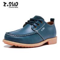 Z.Suo/走索春秋皮鞋男鞋子英伦低帮鞋工装鞋潮流休闲鞋男ZS122Y