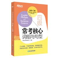 【官方直营】四级常考核心词组与句型 cet4句型短语法句式 同步自测真题语境虚拟语气测试题 大学生英语考试书籍