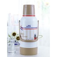 学生宿舍保温瓶塑料外壳暖壶真空玻璃内胆保温水壶大容量暖壶茶瓶
