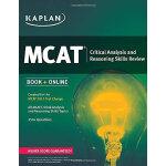KAPLAN MCAT CRITICAL ANALYSIS AND REASONING SKILLS REVIEW 开