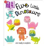 【中商海外直订】Petite Boutique Five Little Dinosaurs
