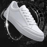 小白鞋男鞋春冬季韩版潮流白色板鞋男士休闲帆布白鞋百搭潮鞋