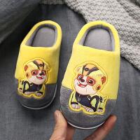 儿童棉拖鞋宝宝秋冬家居鞋男童拖鞋冬小孩室内鞋拖鞋