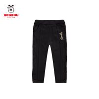 【抢购价:46元】巴布豆童装秋季女童时尚休闲运动长裤