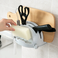 壁挂式刀架砧板架厨房多功能菜刀菜板收纳架案板刀具置物架