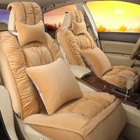 2017新款加厚保暖3D全包围羽绒汽车坐垫 保暖座垫座套冬季坐垫