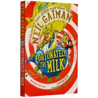 英文原版 幸好有牛奶 Fortunately the Milk 儿童文学作品 同名电影 尼尔盖曼 Neil Gaima