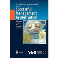【预订】Successful Management by Motivation 9783642076237