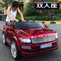 双座儿童电动车四轮汽车遥控可坐1-3-5-8岁童车宝宝玩具车可坐人