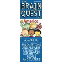 现货 英文原版 Brain Quest America 益智挑战 关于美国 9岁以上