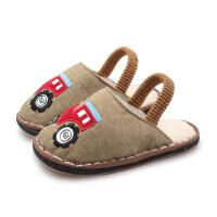 春季四季款宝宝拖鞋1-3-5岁男童儿童室内鞋