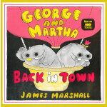 George and Martha Back in Town 乔治和玛莎回到小镇 9780395479469