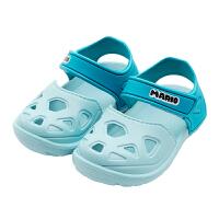 儿童宝宝男童凉鞋夏软底沙滩鞋包头鞋洞洞鞋