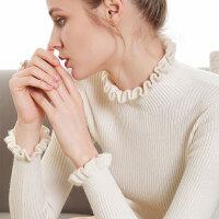 打底衫女2019秋冬新款高领毛衣女套头短款修身长袖紧身针织打底衫内搭毛衫