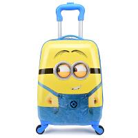 定制16寸18寸儿童卡通拉杆箱小孩旅行箱宝宝行李箱男女拖箱登机箱