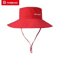 【�徜N爆款,低至4折】探路者帽子 19春夏�敉馀�款仿棉感休�e帽TELH82826