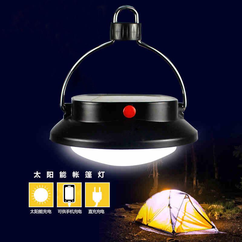 太阳能 野营灯led超亮可充电夜灯帐篷灯家用应急露营灯户外灯挂灯