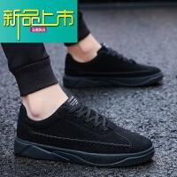 新品上市4 秋冬季韩版潮流男鞋子外增高板鞋男士运动休闲社会潮鞋百搭