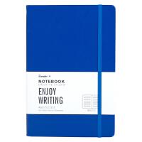 广博(GuangBo)120张A5商务办公笔记本子绑绳设计 蓝色GBP20001当当自营
