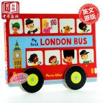 【中商原版】my first london bus 伦敦巴士 纸板书 儿童玩具书籍 车车