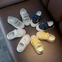 小童帆布鞋春秋儿童布鞋男童鞋子休闲鞋