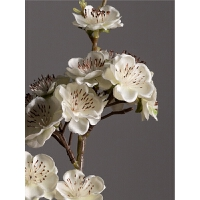 假花仿真花客厅家居摆设绢花花束装饰花假梅花小单支