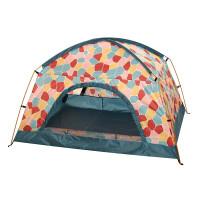 诺诗兰春夏户外防紫外线 UPF40+防晒双人登山帐篷A990148