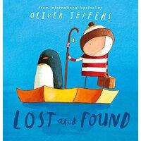 【现货】英文原版 摘星星的孩子系列:迷路的小企鹅 Lost and Found 英版儿童绘本 Oliver Jeffe