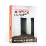 顺丰发货 公正:做哪些事是正确 英文原版 迈克尔桑德尔公开课 罗辑思维书单 Justice: What's the R