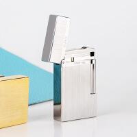 充气打火机 纯铜砂轮 系列充气明火打火机礼盒包装 原铜滚花