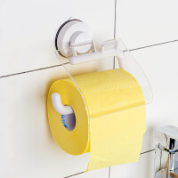 韩国吸盘卫生间纸巾架 防水卷纸器创意手纸厕纸架卫生纸巾盒